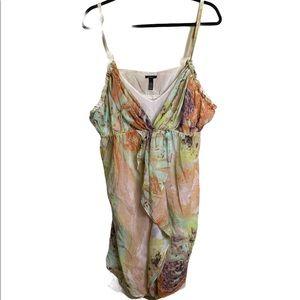 Soma intimates floral slip dress Sz XL